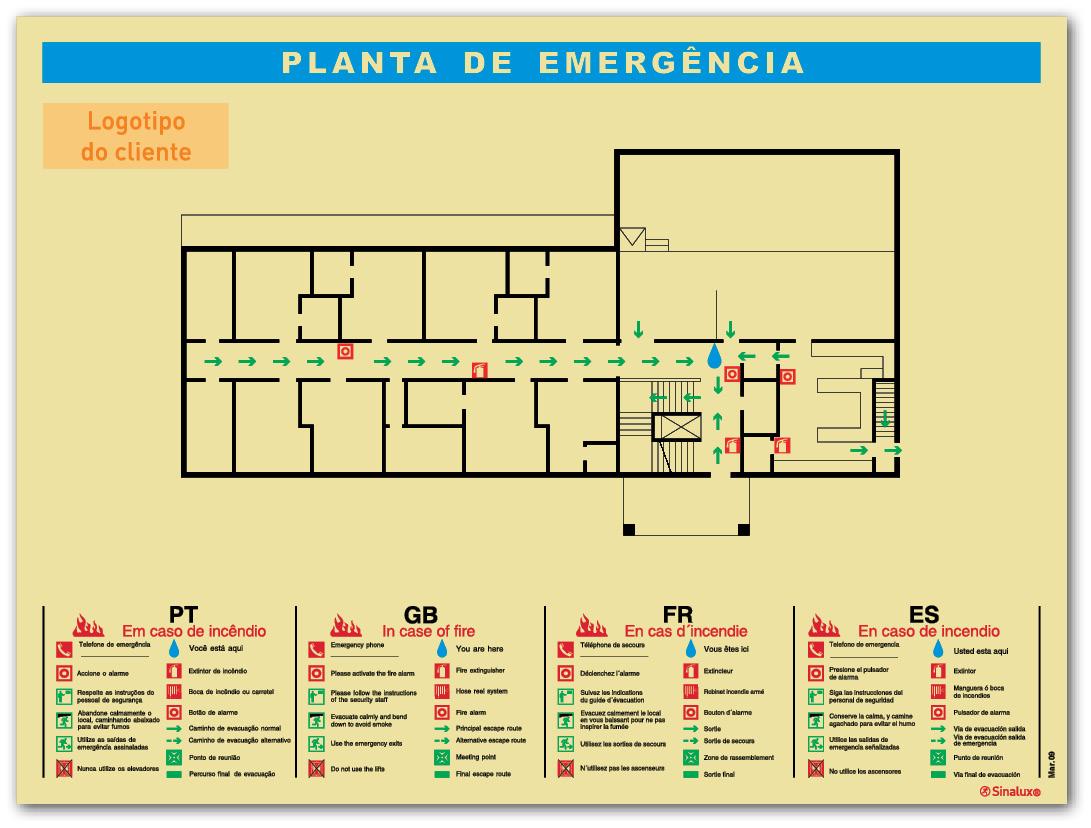 Desenhar Planta Baixa Novas Plantas De Emerg 234 Ncia Sinalux